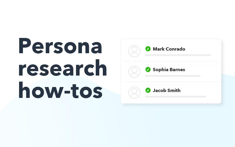 Persona research