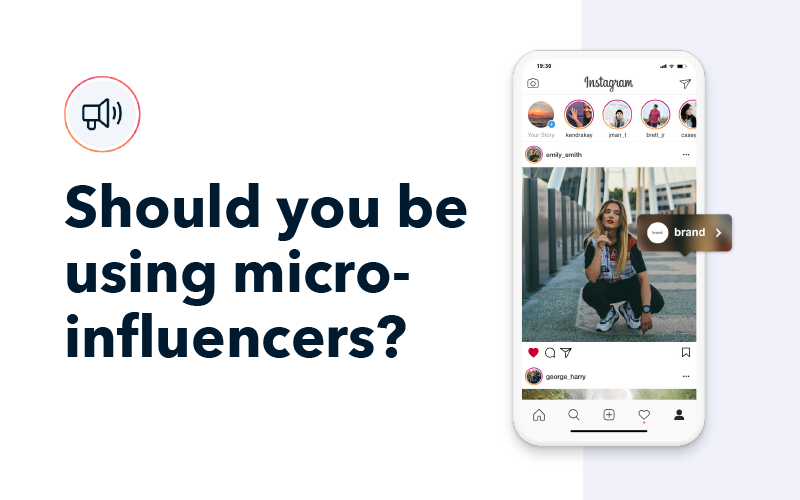 Using micro-influencers