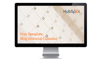 blog editorial calendar offer