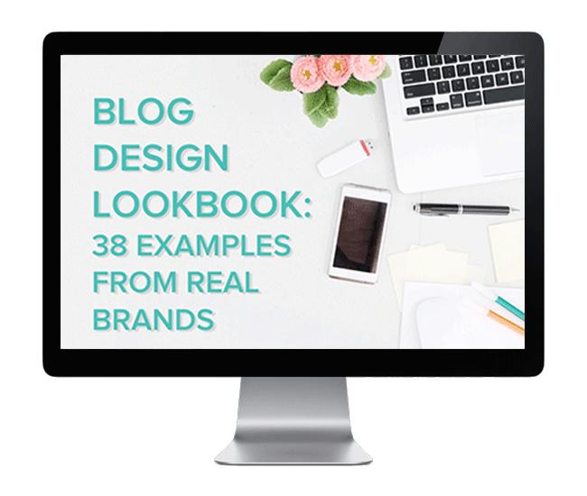 Blog Design Lookbook