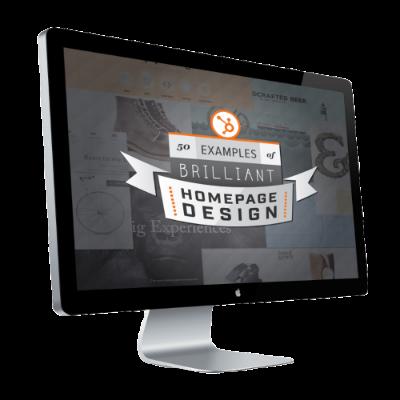Brilliant Homepage Design