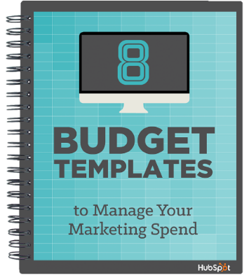 2018 Marketing Budget Free Templates