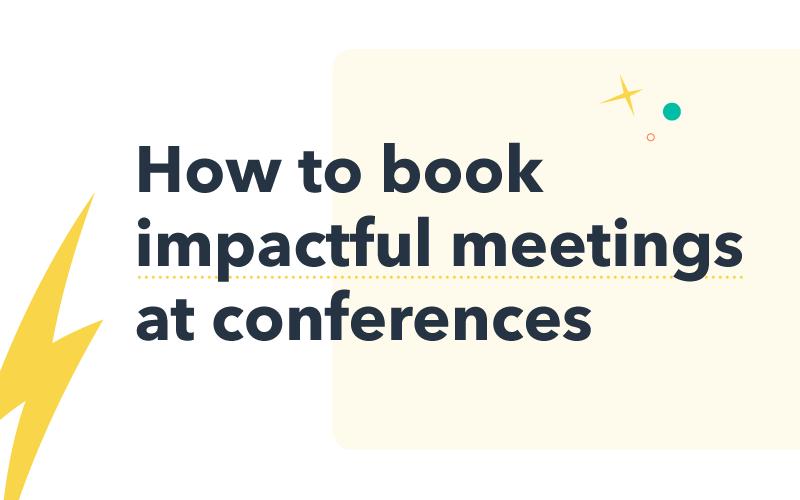 Booking impactful meetings