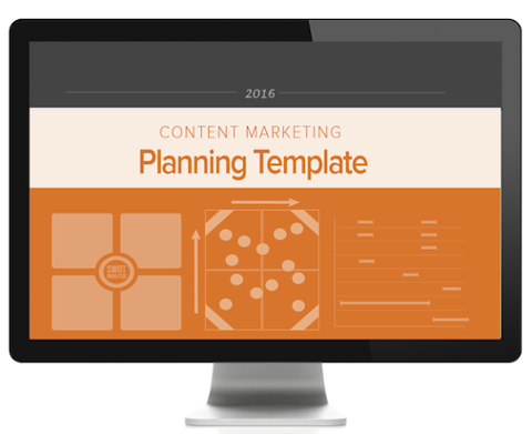 content planning template offer
