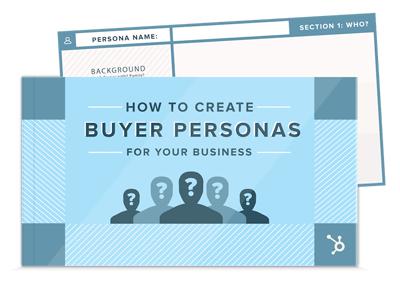 create persona templates