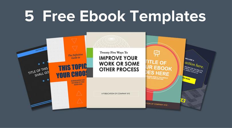 Free download 5 ebook templates fandeluxe Document