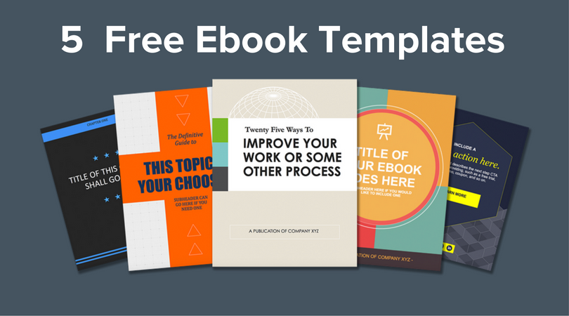 Free Ebook Template | Free Download 5 Ebook Templates