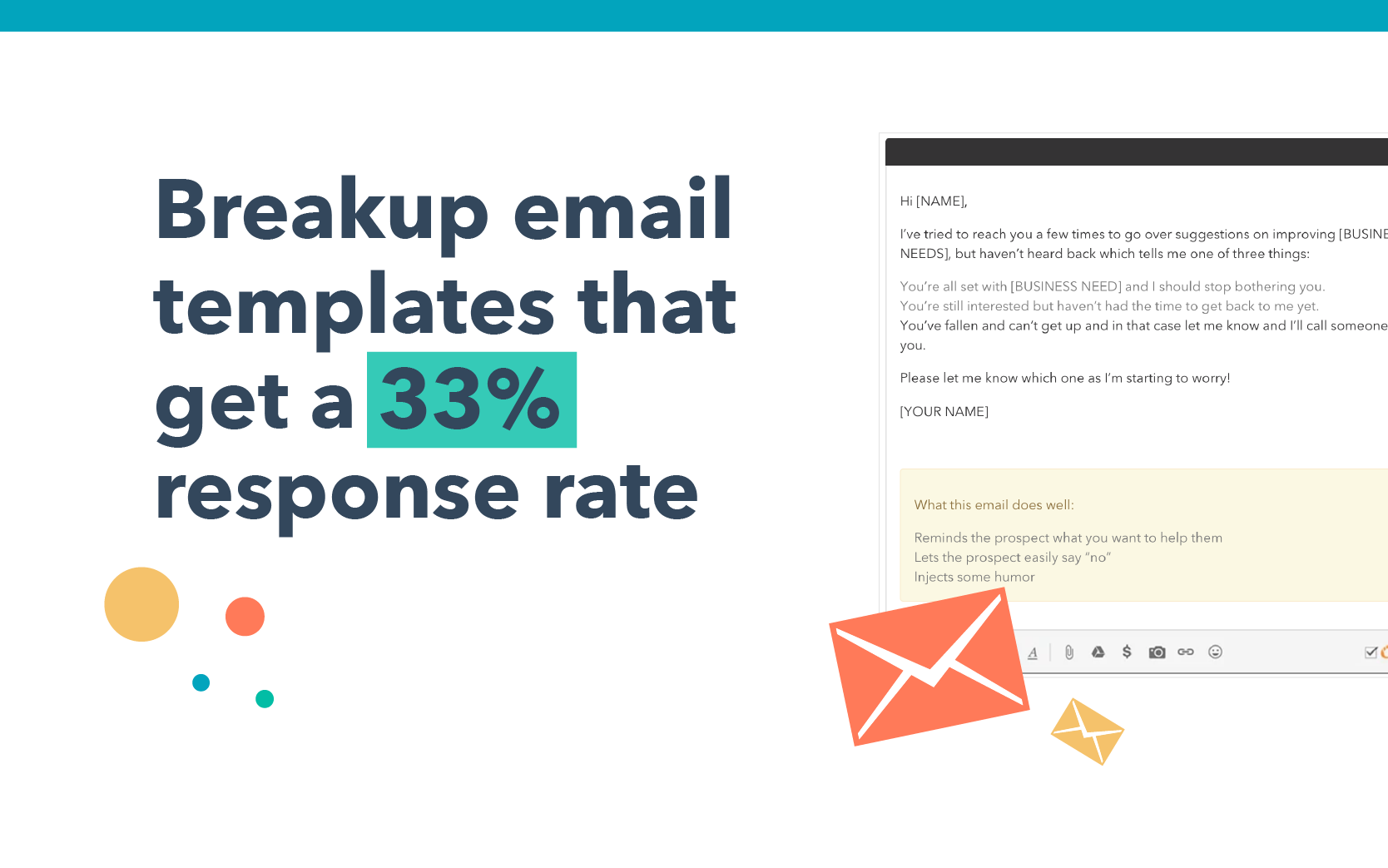 Breakup email templates that get a 33% response rate