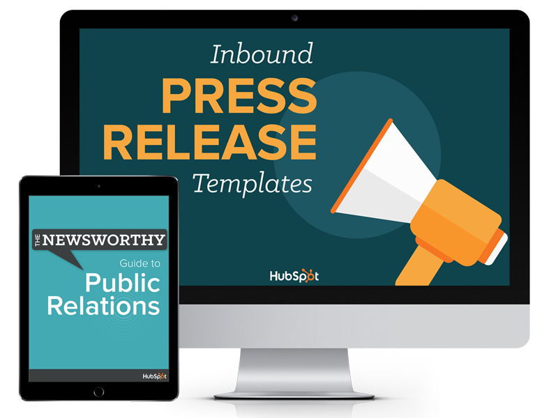 Inbound Press Release Templates and Newsworthy Guide to Public Relations