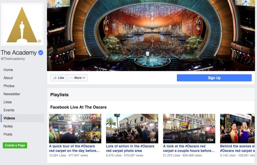 facebook-live-playlist