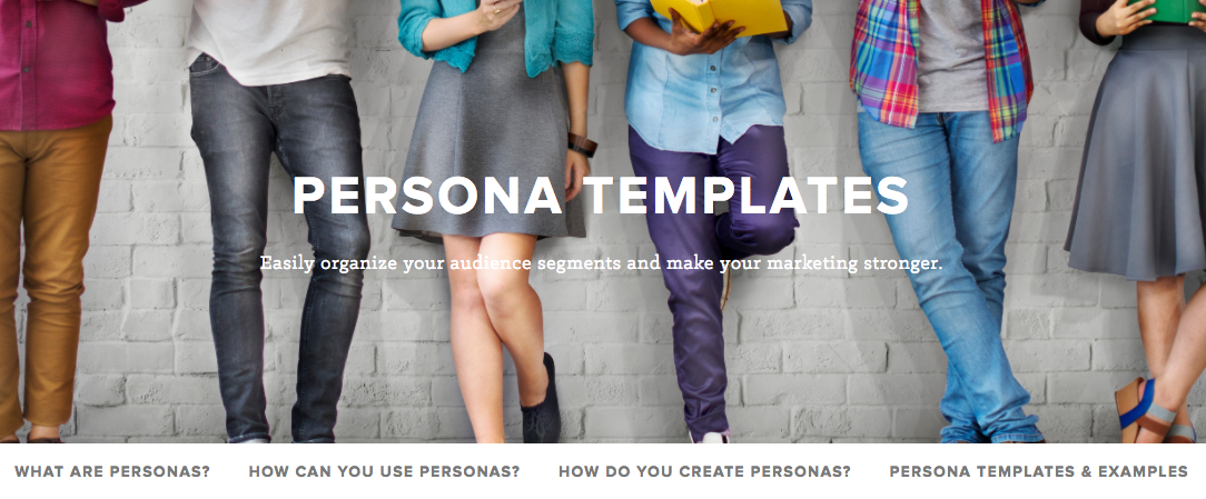persona templates sneak peek