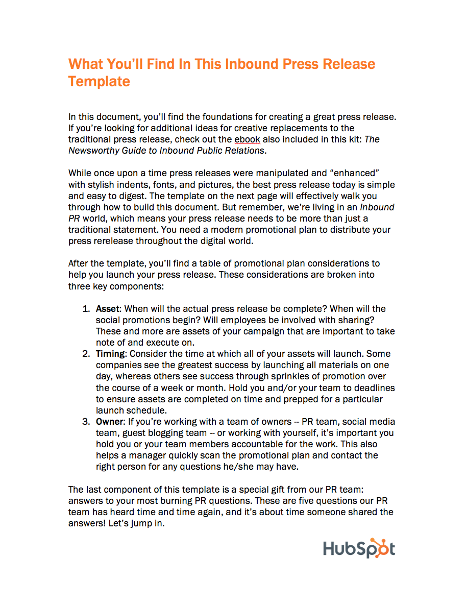 news release template