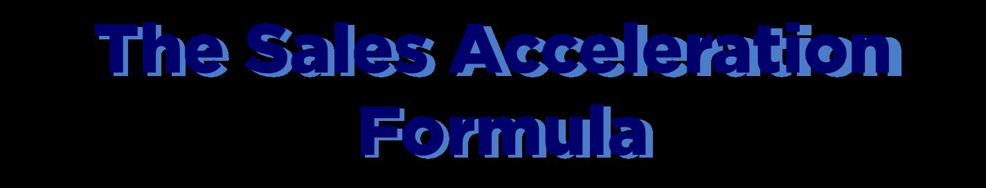 sales_acceleration_formula