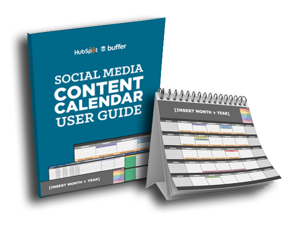 social media editorial calendar template offer