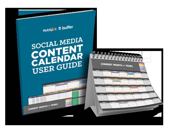 social media editorial calendar template offer