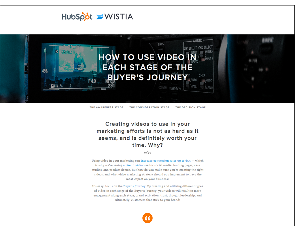 How to Use Video in Each Stage of the Buyer's Journey